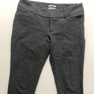 💎 3/$20 MERONA Gray Stretch Skinny Slacks, 4